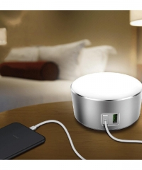 LDINO Érintős LED Lámpa és USB töltő